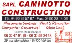 S.A.R.L. CAMINOTTO CONSTRUCTION